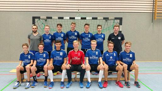 männliche B-Jugend - Saison 2016/17 - Jahrgang 200/01