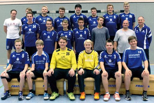 männliche B-Jugend - Saison 2014/15 - Jahrgang 1998/99