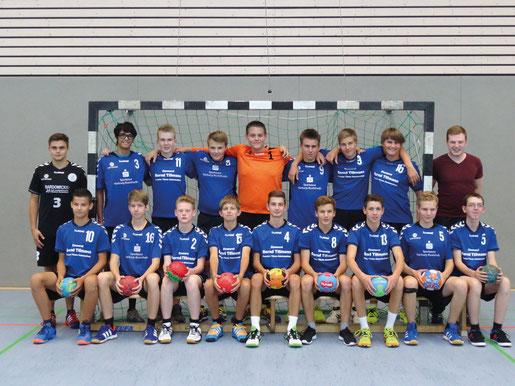 männliche B-Jugend - Saison 2015/16 - Jahrgang 1999/2000
