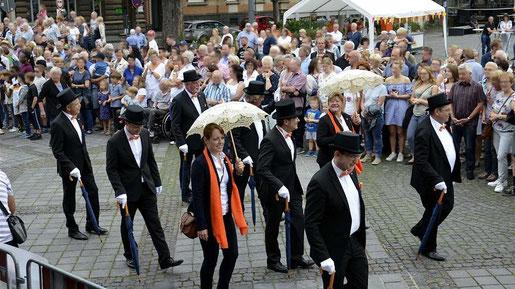 """Mit der Auflage """"Stolberg goes History"""" hat das Kulturfestival am Wochenende neue Maßstäbe gesetzt. Tausende Besucher waren begeistert von dem dreitägigen Programm. Fotos: Dirk Müller"""