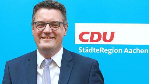 Die CDU schickt Tim Grüttemeier ins Rennen um die Nachfolge von Städteregionsrat Helmut Etschenberg. Foto: Ralf Roeger