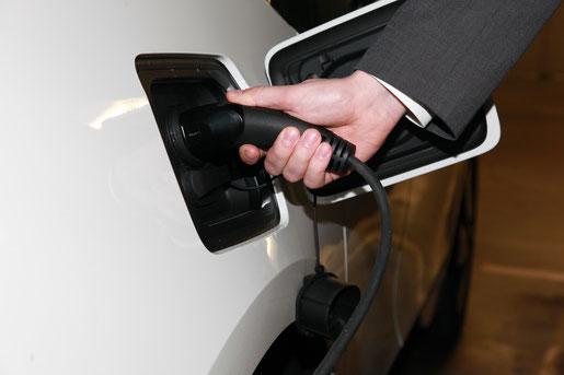 Das Thema Elektromobilität wird bei der Stadt in mehrfacher Hinsicht vorangetrieben. Foto: CDU / Jens-Uwe Kerl