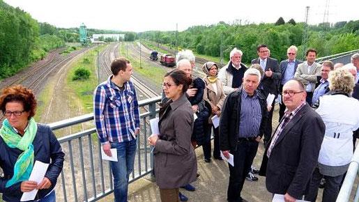 Die langfristige Projektidee eines regionalen Güterverteilzentrums haben die Stolberger nicht aus den Augen verloren. Der Wirtschaftsförderungsausschuss sichtete die Potenziale in Kombination mit Camp Astrid und Gewerbeflächen im Umfeld des Hauptbahnhofs.