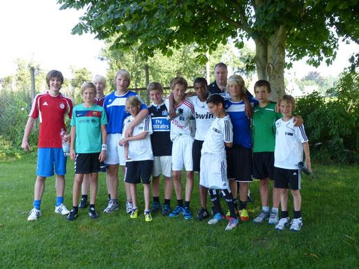 Sommertrainingslager C- Jugend Heider SV  - Saison 2012/13