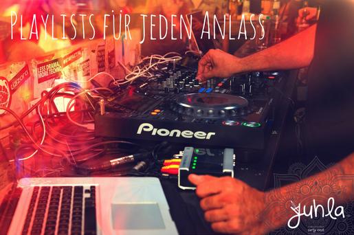 Es muss nicht immer der DJ sein... die besten Playlists zum feiern!