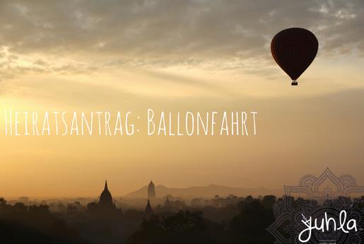 Mit dem Ballon direkt auf Wolke 7... So geht's schwindelfrei!