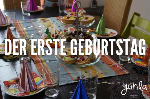 Kuchen mit nur einer Kerze? Den ersten Geburtstag richtig feiern!