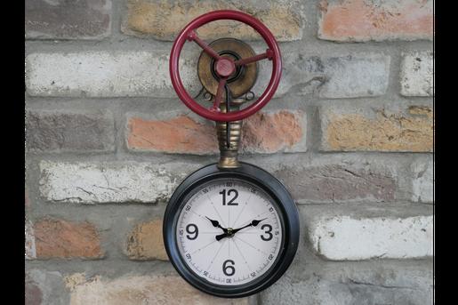 Nautik Vintage Wanduhr Kompassuhr Nautikuhr Retro Uhr