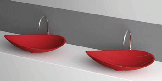 Kool Rosso de GLASS DESIGN