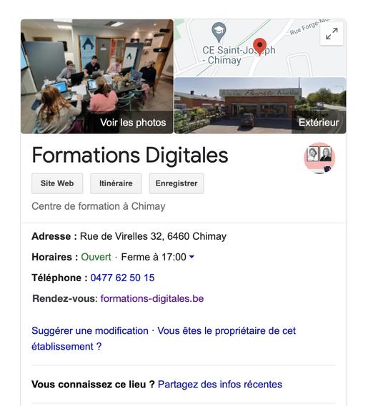 Astuce SEO : Google My Business