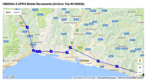 Reise - Genua