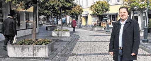 Die Aufgaben von Timo Abels: Leerstand bekämpfen und bestehendes Gewerbe pflegen. Foto: Stadt Stolberg