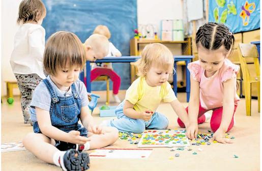 In Stolberg sollen in den kommenden Jahren drei neue Kindertagesstätten gebaut werden, um den Betreuungsbedarf zu decken.                              Foto: Fotolia