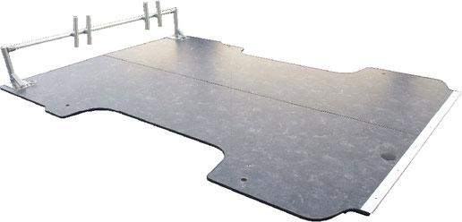 ハイエースの床にパネルを敷くならこれ!施工も簡単な床貼りキットです。