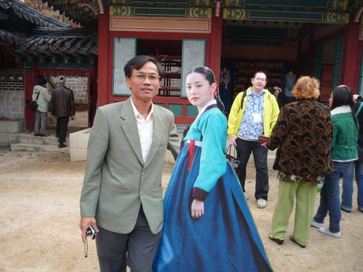 Hàn Quốc, 11/2009. Được giới thiệu và đến tham quan nơi đóng bộ phim Dae Jang Geum. Các bạn biết lịch sử của nơi này có gi đặt biệt không?