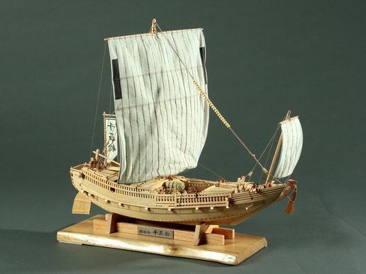 38-22  Sengoku Ship     Period:  17th Century  Scale: 1/60   Woody Joe   |  Toshio MATSUSHITA