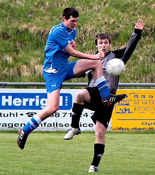 Thorsten Görgen, hier rechts im Bild in Aktion