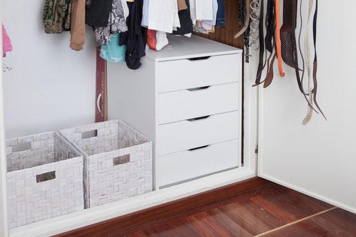 Aprovecha todo el espacio del armario para organizarlo - AorganiZarte