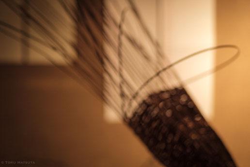 ようやく籠の形が見えるのが編むことのたのしみです|Fujifilm X-T20