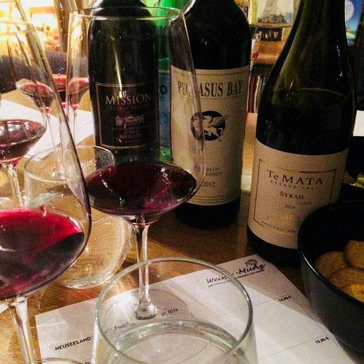 Neuseeland Weinprobe 2018 die Erste