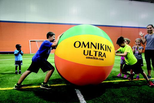 Ballon de kin-ball Omnikin Ultra. Pour jouer au ballon géant et à acheter au meilleur prix.