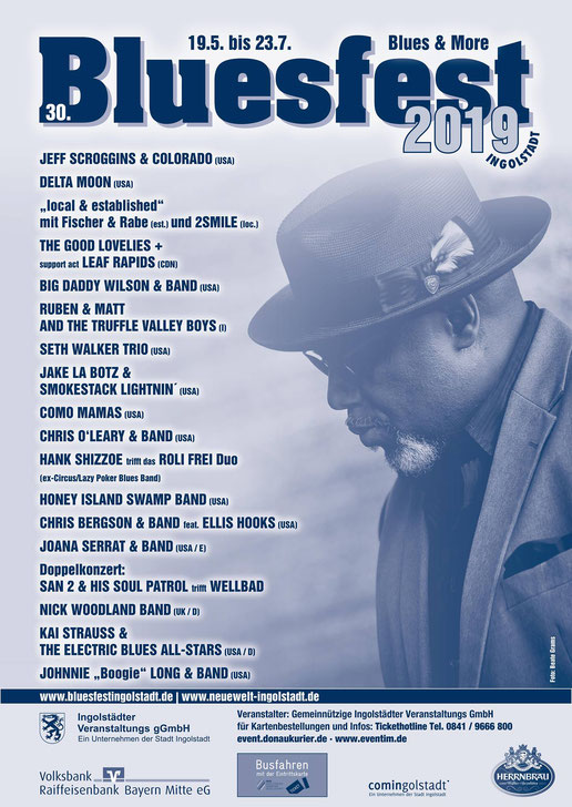 Blues & More - Bluesfest Ingolstadt 2019 - 04/2019