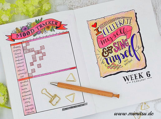 stimmungs tracker, monthly spread, mood tracker, collection, Bujo, Bullet Journal, Inspiration, Idea, Ideen, Bullet Journal Layout, Planner, Monthly Monthlyspread, weekly, Calender, Kalender,