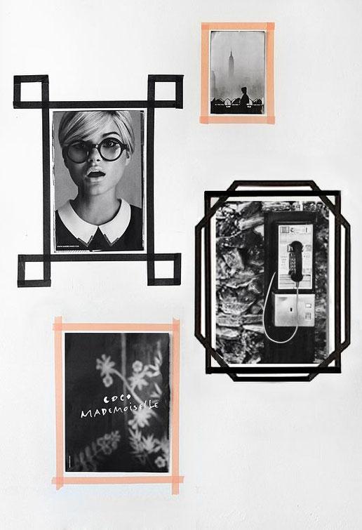 Gallery Wall Inspiration, Image via Pinterest