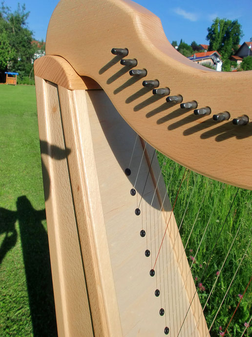 Harfe Modell Jupiter aus Buche