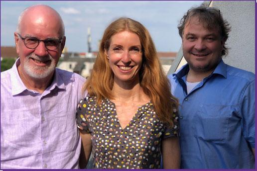 Stefan Baumgarth mit Dr. Willem Lammers und Ulrike Scheuermann - Stefan Baumgarth Consulting - Business meets Music