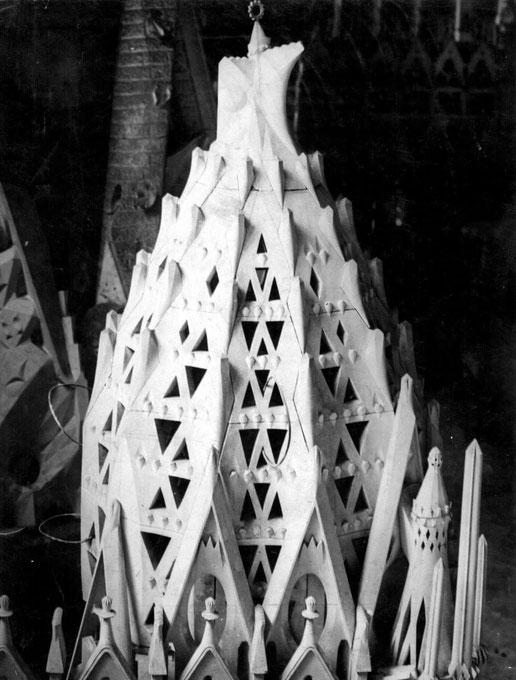 Храм Святого Семейства в Барселоне. Модели и макеты
