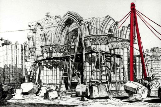 Саграда Фамилия - строительство во времена Антонио Гауди
