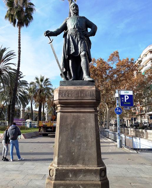 скульптуры Барселоны