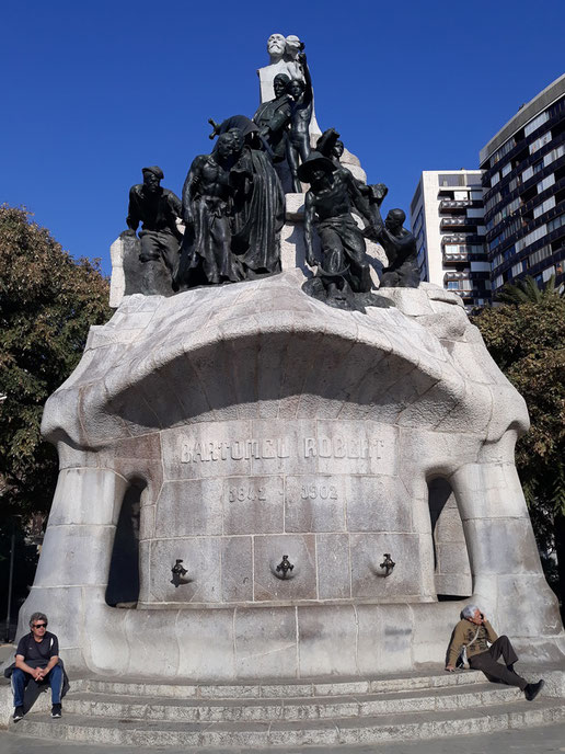 Монумент Доктору Роберту, Барселона.