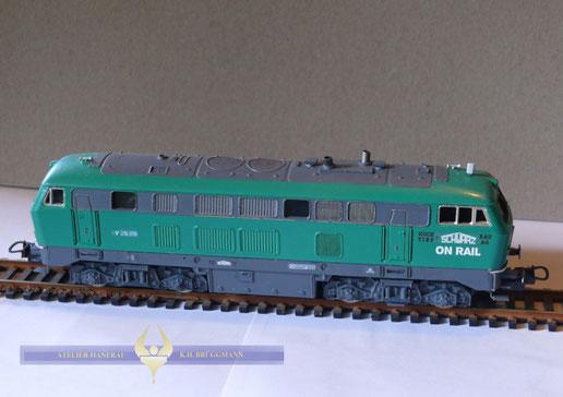 Baureihe V 216 Diesellokomotive, Schwarzbau - Look