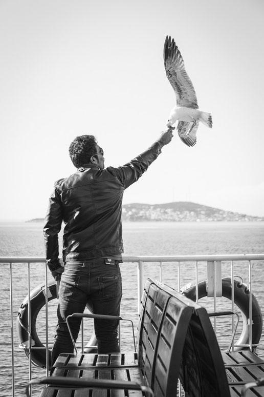 Istanbul vs. Eric Cantona (Copyright Martin Schmidt, Fotograf für Schwarz-Weiß Fine-Art Architektur- und Landschaftsfotografie aus Nürnberg)