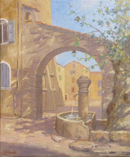 Tony Wahlander (Wåhlander) Fontaine Saint Vincent de Barjols