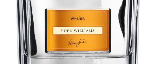 Edel Williams Brennerei Scheibel - doppelt destilliert