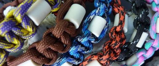 anti-tekenhalsbanden voor honden met em-x kralen