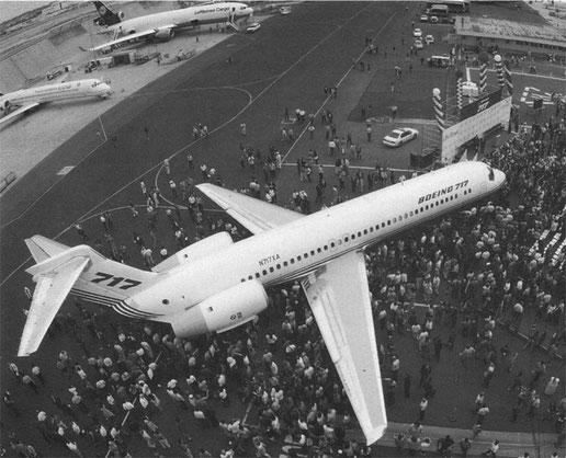 Die Boeing 717 wird vorgestellt/Courtesy: Boeing
