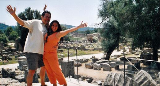 Centro Arqueológico de Olympia, onde as primeiras olimpiadas aconteceram
