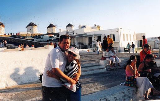 Moinhos de vento de Mykonos