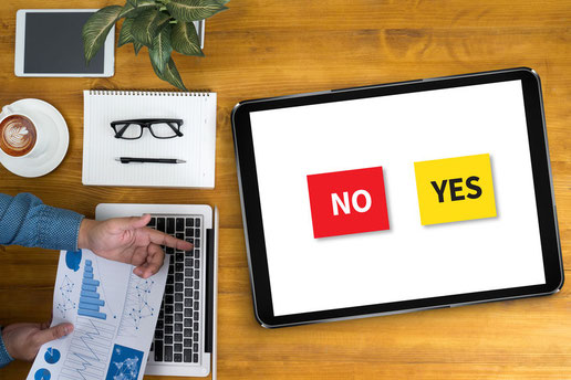 IELTS ライティング Yes or No question