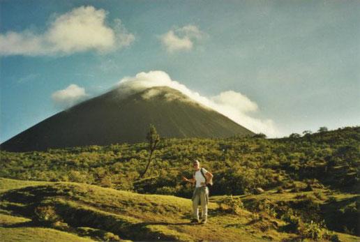 Der Vulkan Pacaya: Eine Landschaft wie im Auenland - zumindest im ersten Drittel ...