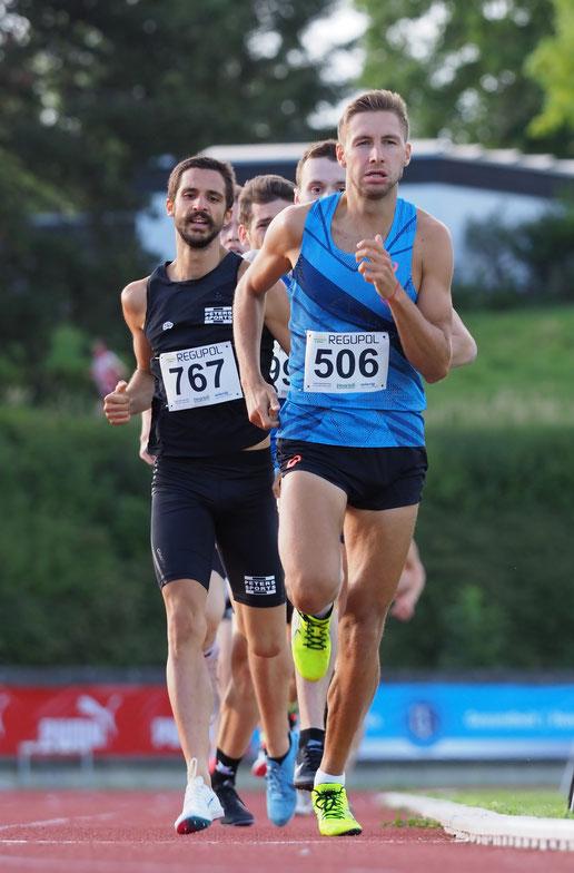 Jakob Gieße läuft in Siegburg die nächste Bestzeit (Foto: Marco Stausberg)