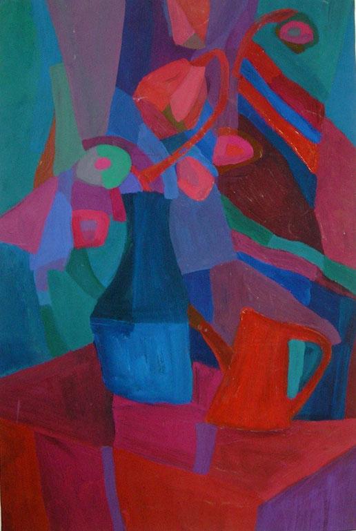 Композиция, натюрморт , декоративная живопись, современная,живопись, гуашь, темпера, Циркина, Богачева, Мария, Tsirkina, Bogacheva,