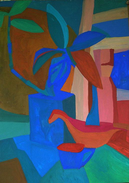 Композиция, модель , декоративная живопись, современная,живопись, гуашь, темпера, Циркина, Богачева, Мария, Tsirkina, Bogacheva,