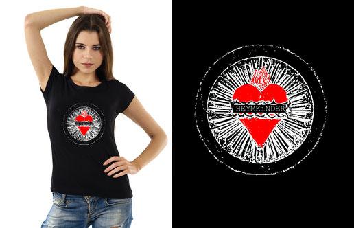 Damen Shirt - Herz - 29,50 EUR