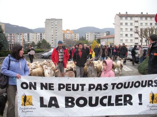 Action du 17/12/2014 - Privas (Ardèche)