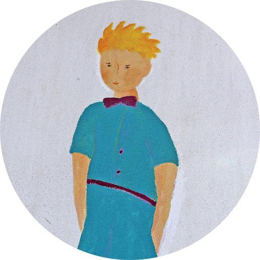 Der Kleine Prinz ist das Maskotchen der Kindertagesstätte Genovevastraße 72